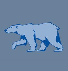 bear polar animal mammal teddy grizzly vector image vector image