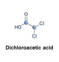 Dichloroacetic acid or bichloroacetic vector