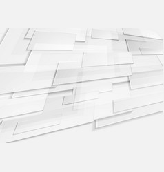 abstract grey tech geometric motion background vector image