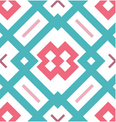abstract seamless geometrical pattern for flyers vector image