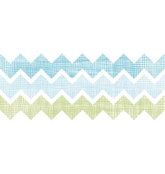 Fabric textured chevron stripes horizontal vector image