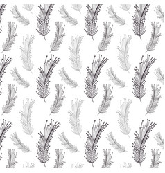 Feather decoration background design image vector