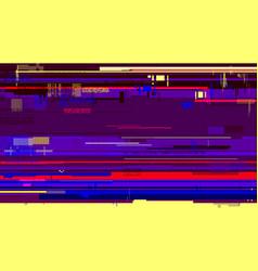 glitch background corrupted image file digital vector image