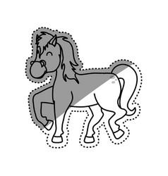 Horse farm animal vector