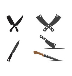 Knife icon template vector