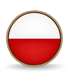 Poland Seal vector image