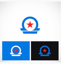 star omega company logo vector image