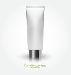 Tube Of Cream vector image