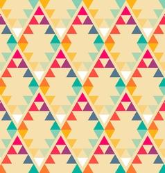nordic sunrise rhombus pattern vector image vector image