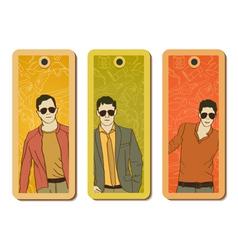 Fashion tags vector image vector image