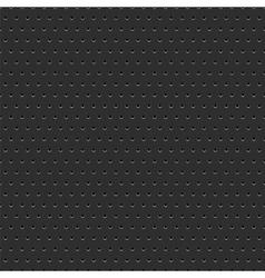 Abstract dotted black metal background vector