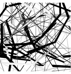 Abstract geometric art with random scattered vector