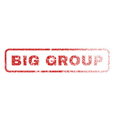 Big group rubber stamp vector