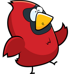 Cardinal walking vector