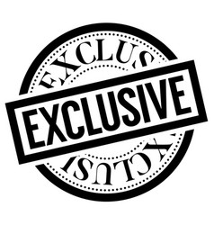 exclusive stamp typ vector image
