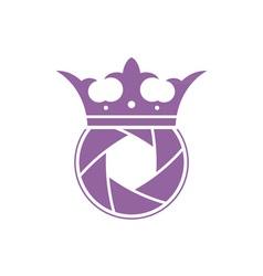 photo-crown vector image