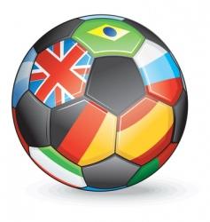 International soccer vector