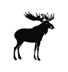 Deer icon simple style vector image vector image