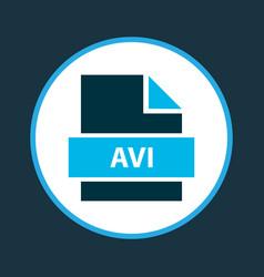 Document icon colored symbol premium quality vector