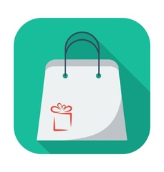 Holiday bag vector