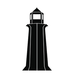 Peggy Cove Lighthouse Nova Scotia Canada icon vector image