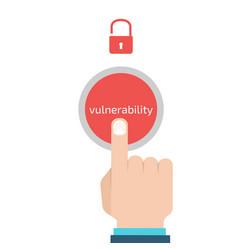 Vulnerability search seo optimizationweb vector