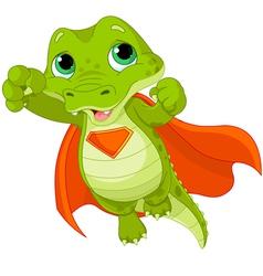 Super Alligator vector image