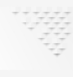 white square geometric texture background vector image