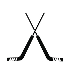 Hockey icon simple style vector image vector image