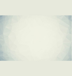 abstract gray white polygonal background creative vector image