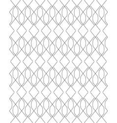 Black and white seamless pattern modern stylish vector