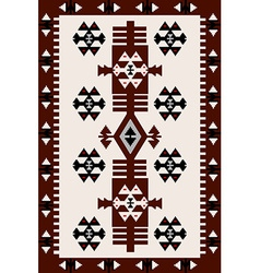 Carpet with Hungarian motifs vector