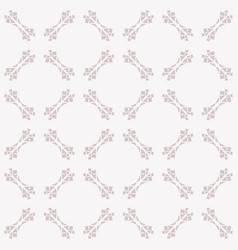 cute ornamental seamless art deco pattern vector image