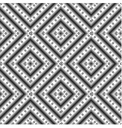 ethnic rhombs texture carpet or wallpaper vector image