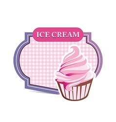 Ice cream sandwich drink lovely lollipop pink vector