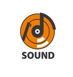Logo sound vector