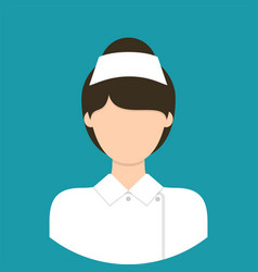 nurse characte icon great of character use for vector image