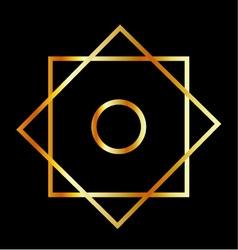Rub el Hizb symbol vector image