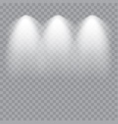 scene illumination cold light effect stage vector image