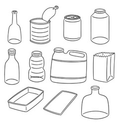 Set of recycle item vector