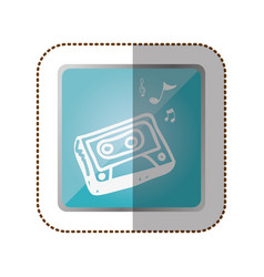 Symbol radio technology icon vector