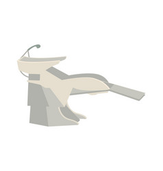 Basin washing hair hairdressers procedure vector