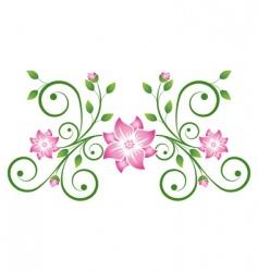 decorative scroll vector image