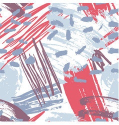 motley abstract artistic seamless pattern vector image