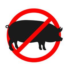 No pig vector