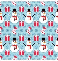 pattern ornament winter vector image