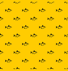 river fish pattern vector image