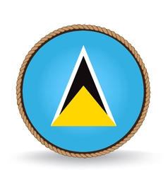 Saint Lucia Seal vector