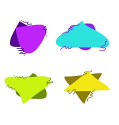 text balloon set image vector image