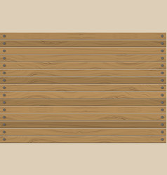 Texture of wood panels horizontal wall abstract vector